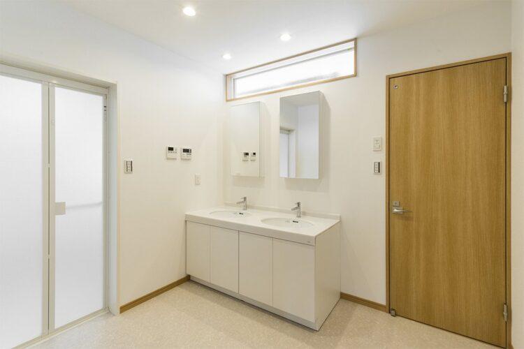 注文住宅施工例(名古屋市名東区)洗面室