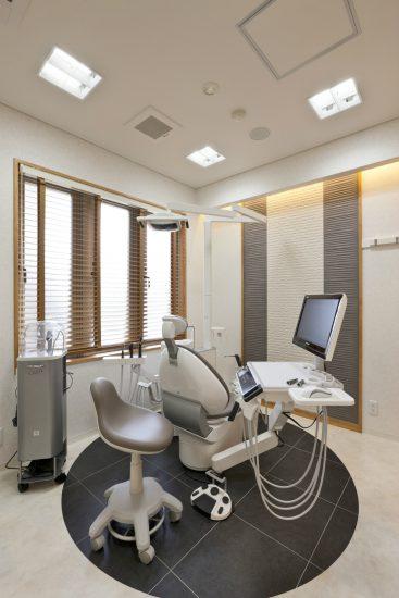 名古屋市東区の医療施設の高級感ある2階特診室