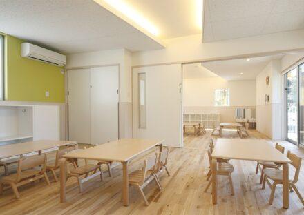 保育園施工事例(名古屋市名東区)2階 2・3歳児室