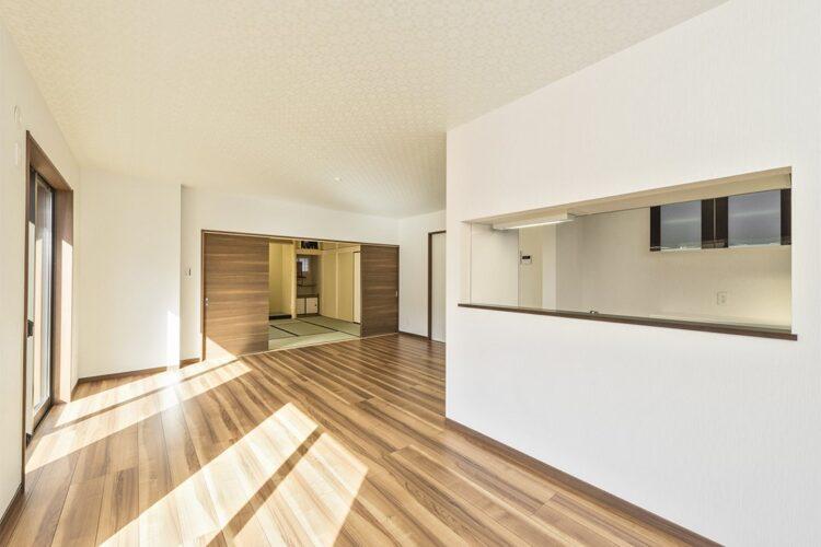 注文住宅(愛知県春日井市) LDK・和室
