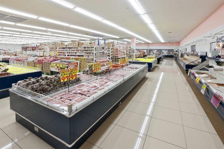 店舗施工例(スーパーマーケット) 店内