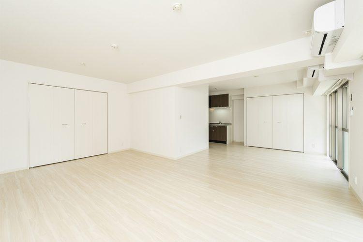 名古屋市中区のワンルームマンションのキッチン、収納ある洋室