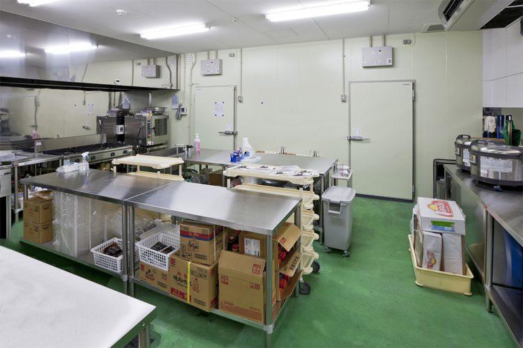 店舗施工例(スーパーマーケット) 惣菜製作所