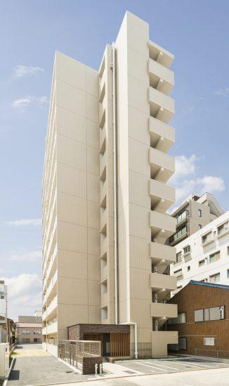 名古屋市中区のワンルームマンションのナチュラルカラーの賃貸マンション