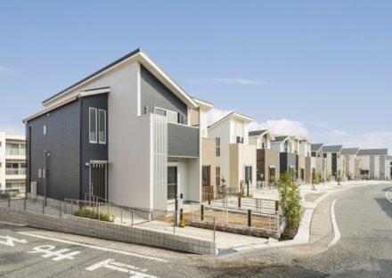 名古屋市名東区のモダンな外観デザインの戸建住宅