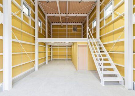 倉庫施工事例(名古屋市南区) 倉庫内部2
