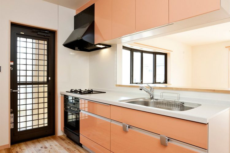 注文住宅施工例(名古屋市緑区)システムキッチン