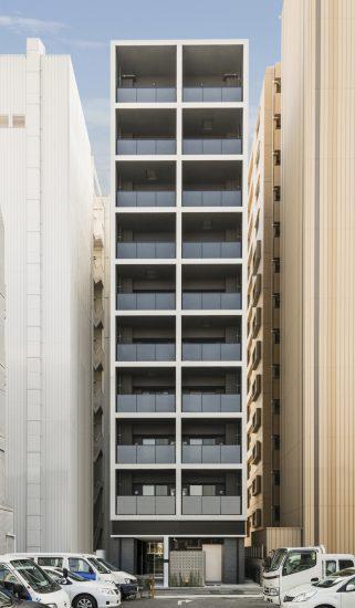 名古屋市北区の10階建ての36戸ワンルーム賃貸マンション