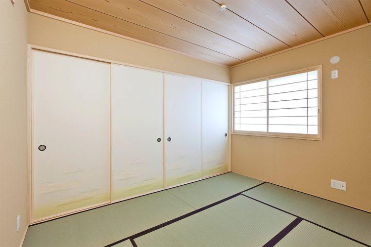 襖と障子が美しい和室