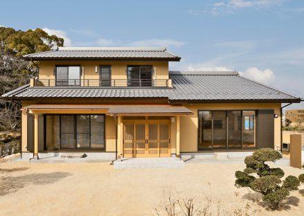 名古屋市緑区の注文住宅の伝統的な和風スタイルの外観デザイン