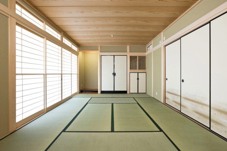注文住宅施工例(名古屋市緑区)和室