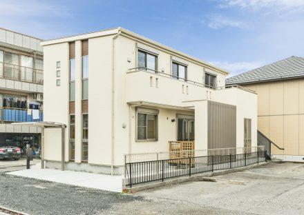 名古屋市北区のベランダ&テラスのある注文住宅外観デザイン