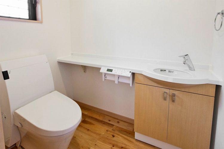 注文住宅施工例(名古屋市緑区)トイレ