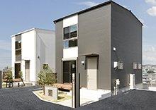 戸建賃貸施工例(愛知県尾張旭市)2LDK 外観