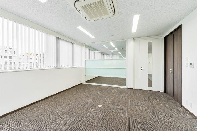 事務所施工例(名古屋市名東区) 事務室1