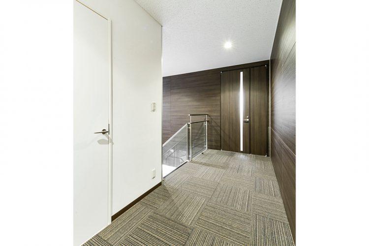 事務所施工例(名古屋市名東区) 廊下・ホール