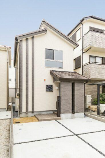 名古屋市西区の戸建賃貸住宅A棟 外観