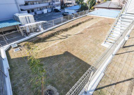 名古屋市天白区の注文住宅の広さのある庭