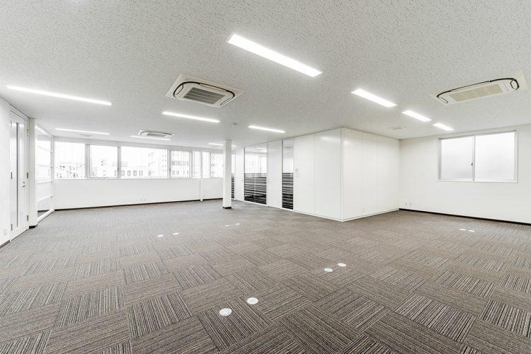 事務所施工例(名古屋市名東区) 事務室2