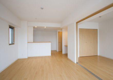 名古屋市西区の賃貸マンションの洋室と合わせて使えるLDK