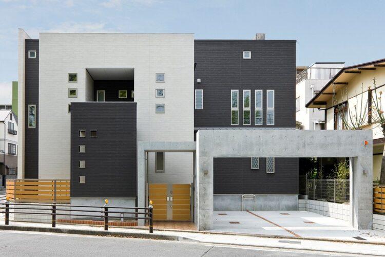 名古屋市東区の注文住宅外観
