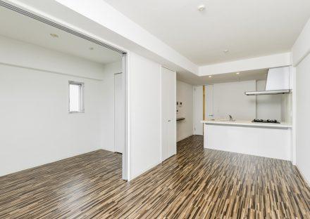 名古屋市西区の賃貸マンションの洋室とLDKを一緒に使えるLDK