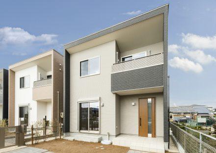 名古屋市南区のモダンテイストな外観デザインの戸建賃貸住宅