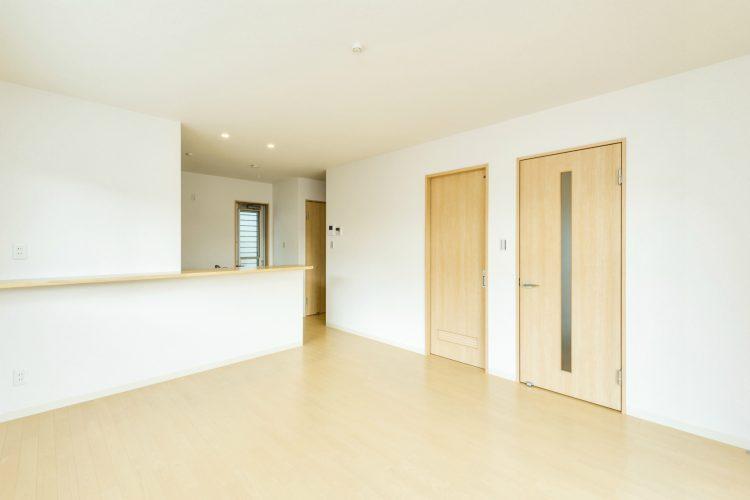 名古屋市南区の戸建賃貸住宅のナチュラルテイストなLDK