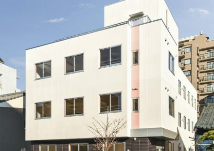 名古屋市中区の鉄骨造4階建て グループホーム・小規模多機能型居宅介護