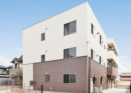 名古屋市西区の介護施設の木造3階建てのグループホーム