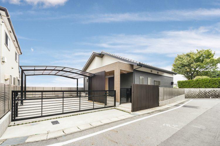 愛知県瀬戸市の注文住宅 外観