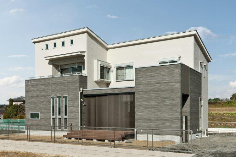 愛知県豊田市の注文住宅外観