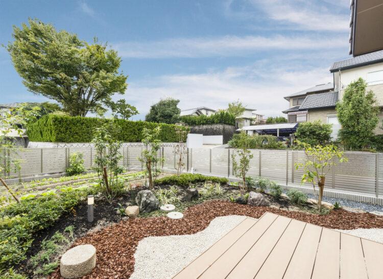 注文住宅 庭園
