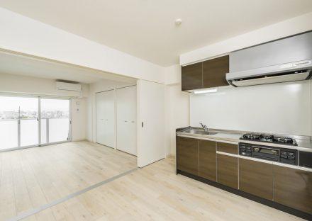 名古屋市瑞穂区の賃貸マンションの洋室とLDKは繋げて使用することも可