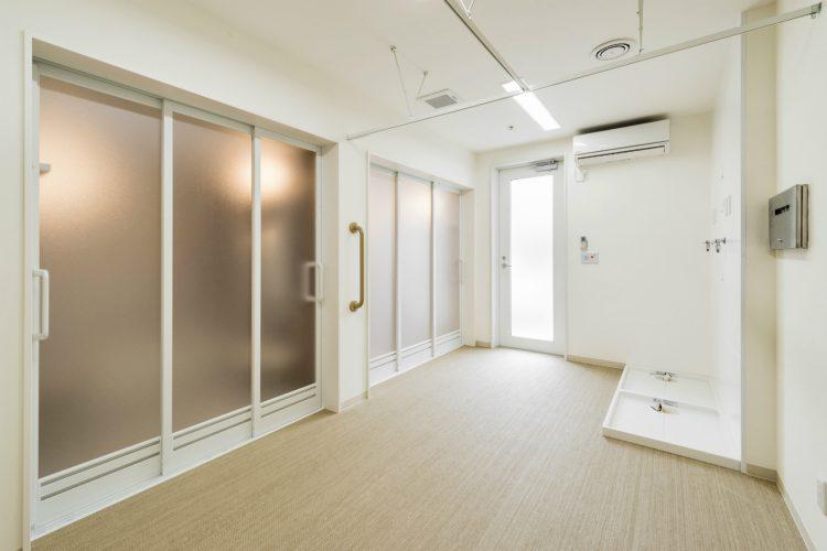 名古屋市名東区の介護施設の脱衣室