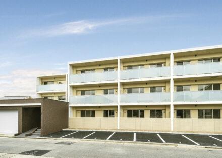 名古屋市西区の賃貸併用住宅 シンプルな3階建て賃貸マンション