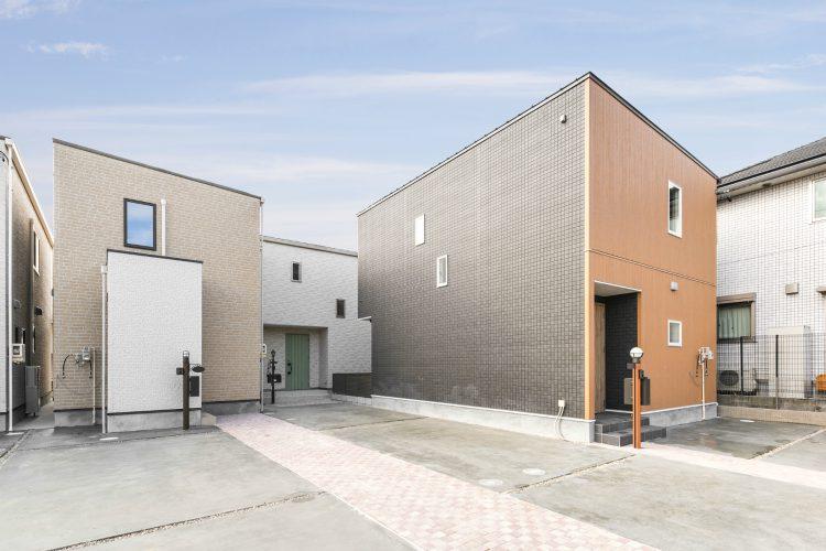 愛知県豊田市の戸建賃貸住宅 外観