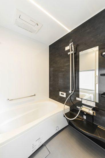 名古屋市千種区の注文住宅 浴室