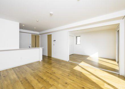 名古屋市名東区の賃貸マンションのナチュラルテイストLDK&洋室