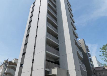 名古屋市中村区のモダンなデザインのワンルーム賃貸マンション