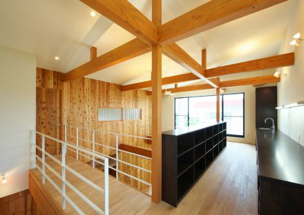 名古屋市守山区の注文住宅の開放感のある心地よい空間