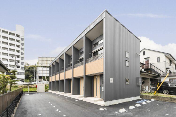 豊田市のロフト付き賃貸アパート 外観