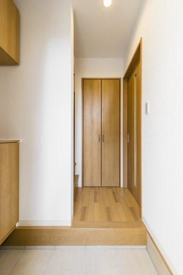 中川区の戸建賃貸住宅 A棟玄関
