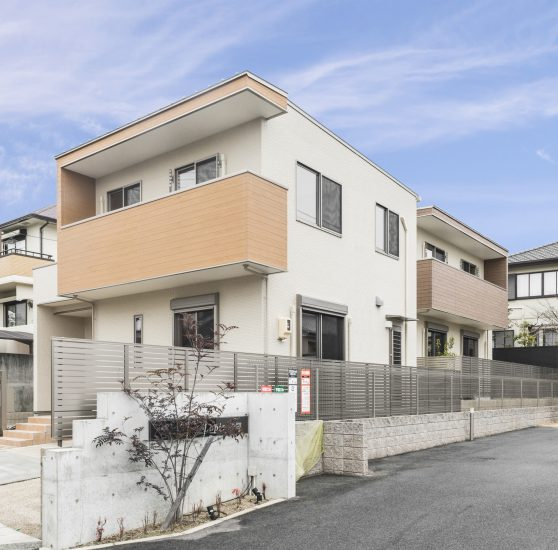 名古屋市名東区のナチュラルテイスト戸建賃貸住宅 外観
