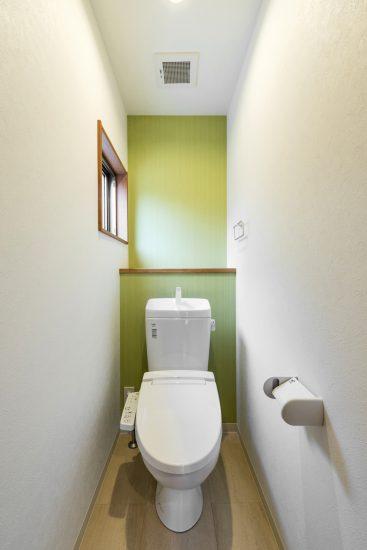 名古屋市名東区のナチュラルテイスト戸建賃貸住宅 トイレ