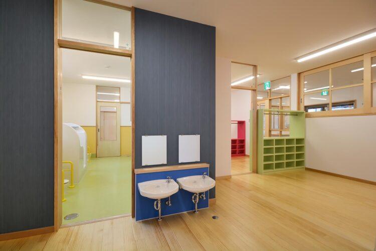 名古屋市守山区の保育園 1歳保育室 手洗い