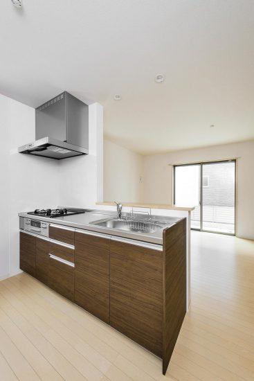 名古屋市瑞穂区の戸建賃貸住宅 B棟キッチン