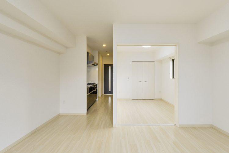 岐阜市の賃貸マンション施工例 LDK・洋室