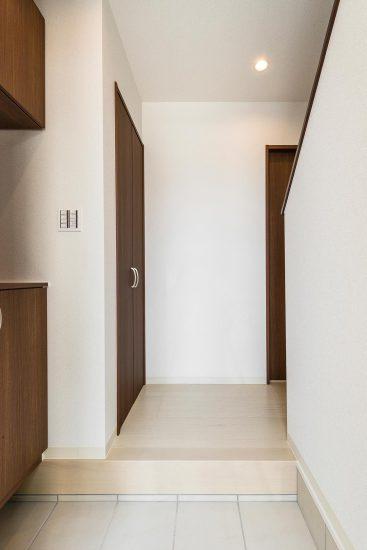 名古屋市瑞穂区の戸建賃貸住宅 E棟 玄関