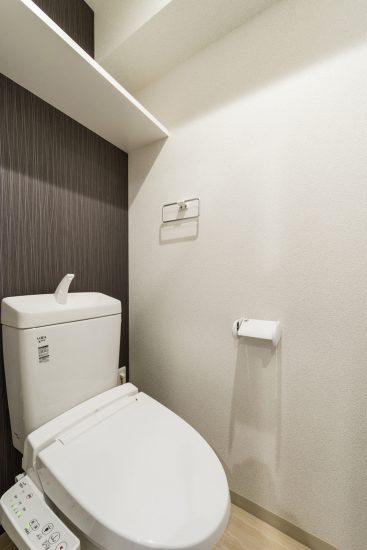岐阜市の賃貸マンション施工例 トイレ